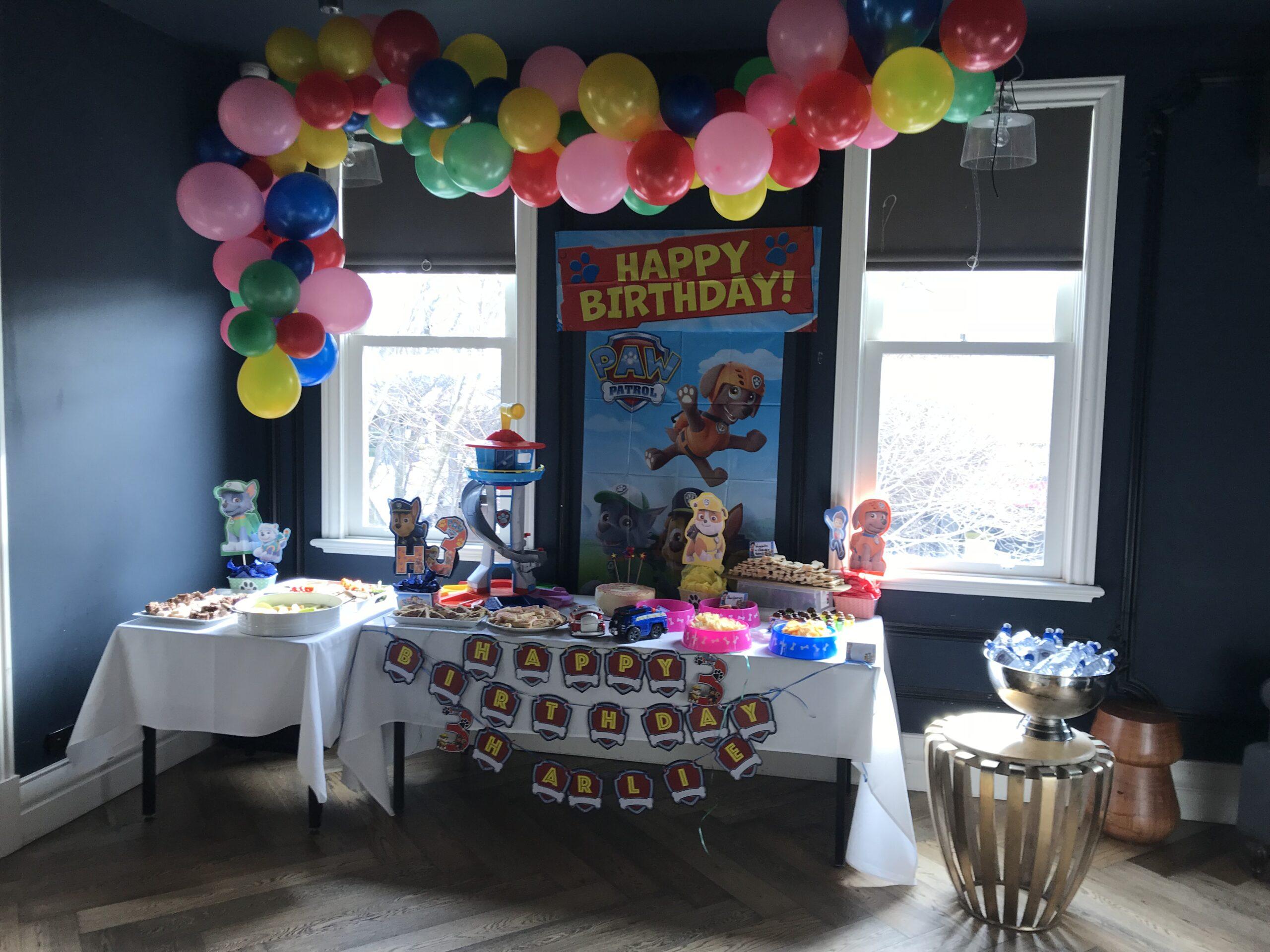 Harlie's 6th Birthday